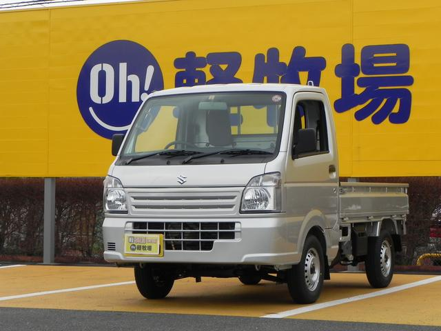 KCエアコン・パワステ  3AT 4WD 新車保証継承(1枚目)