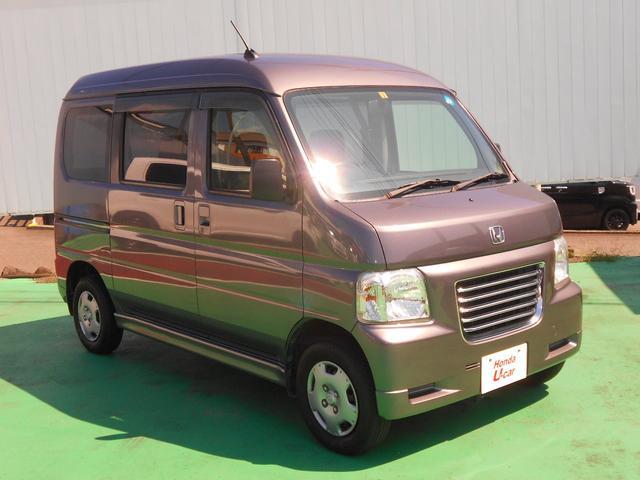 ホンダ バモスホビオ M AT車 CDオーディオ付 ハイルーフ