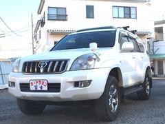 ランドクルーザープラドTX 4WD フルセグHDDナビ サンルーフ バックカメラ