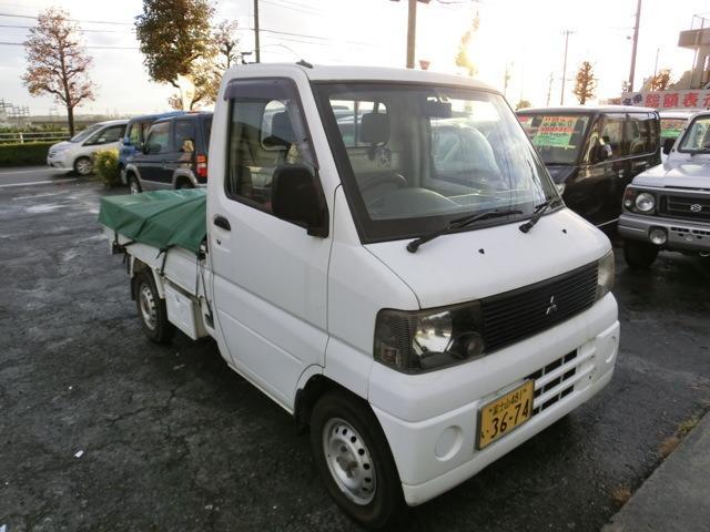 三菱 ミニキャブトラック TD 4WD エアコン パワステ