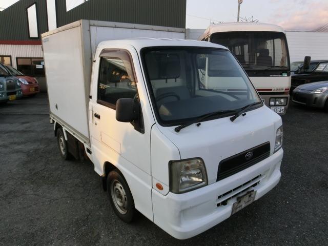 スバル サンバートラック 冷蔵冷凍車 -22℃設定