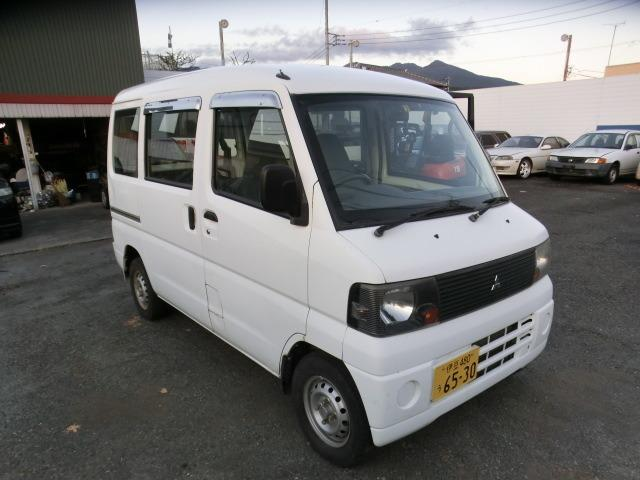 三菱 ミニキャブバン CD ハイルーフ 4WD 5速マニュアル エアコン パワステ