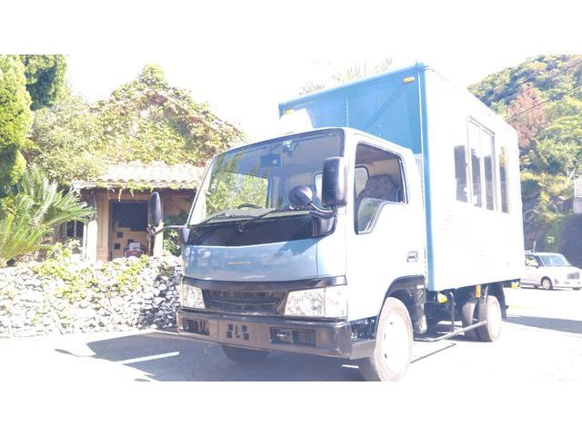 マツダ  アルミバン NOx適合車 ガソリン車 1.4t フードトラック キッチンカー 移動販売車 コールドテーブル・2ソウシンク V-BUS/T