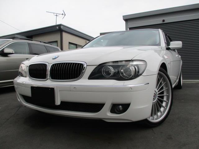 BMW 750iコンフォートPKG 21インチローダウン黒革 SR