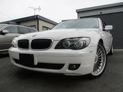 BMW750iコンフォートPKG 21インチローダウン黒革 SR