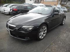 BMW650iカブリオレ ブラックレザー 純正ナビ