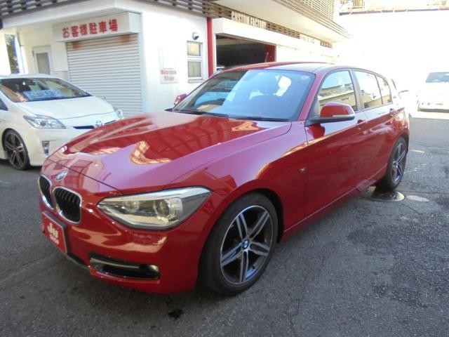 BMW 1シリーズ 116i スポーツ 17インチ純正アルミ POTENZA