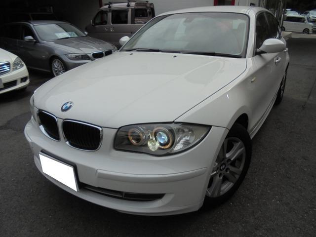 BMW 1シリーズ 120i ワンオーナー禁煙車 記録簿 パワーシート