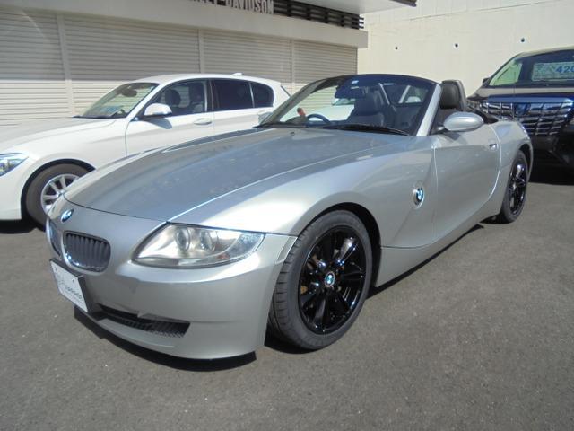 BMW Z4 ロードスター2.5i BLACKレザーインテリア シートヒーター パワーシート