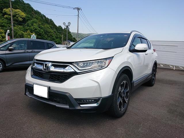 ホンダ CR-V EX・マスターピース 純正ナビ 革シート 7人乗