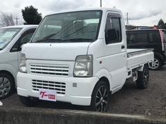 キャリイトラック5速マニュアル 軽トラック ナビ エアコン ホワイト