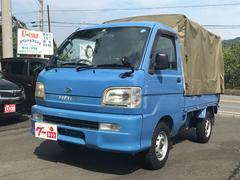 ハイゼットトラッククライマー 4WD 5MT 純正幌付き 作業灯付き