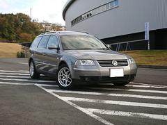 VW パサートワゴンV5 サンルーフ ポータブルナビ BBSアルミホイール