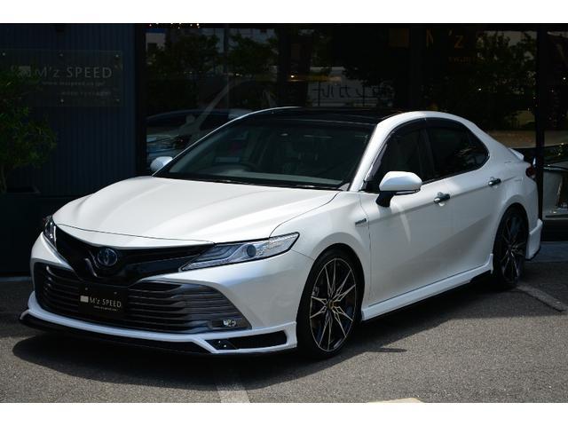 トヨタ G パノラマルーフ M'z新車コンプリート 車高調Ver