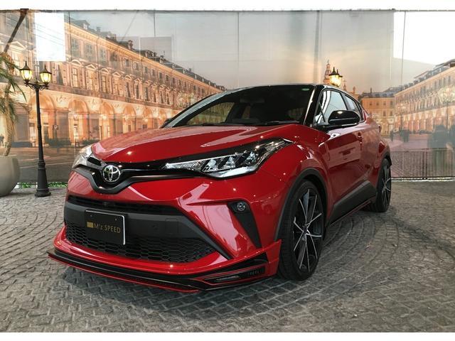 C−HR(トヨタ) S−T M'z新車コンプリート 車高調Ver エアロ ツートンペイント Fグリルガーニッシュ ZEUS車高調 中古車画像