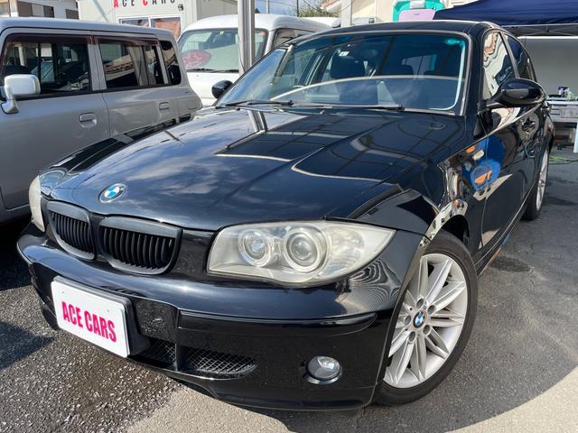 BMW 1シリーズ 118i 内外装清掃済み 室内除菌済み スチーム清掃 キーレス プッシュスタート ETC 純正ナビ アルミホイール コンパクトカー