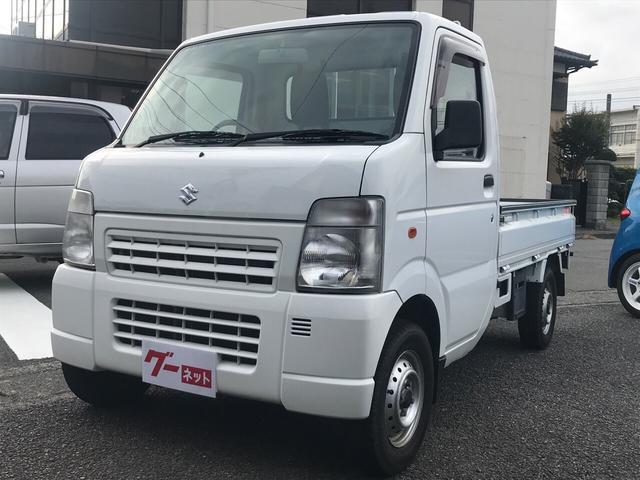 スズキ KC 4WD AC MT 修復歴無 軽トラック オーディオ付
