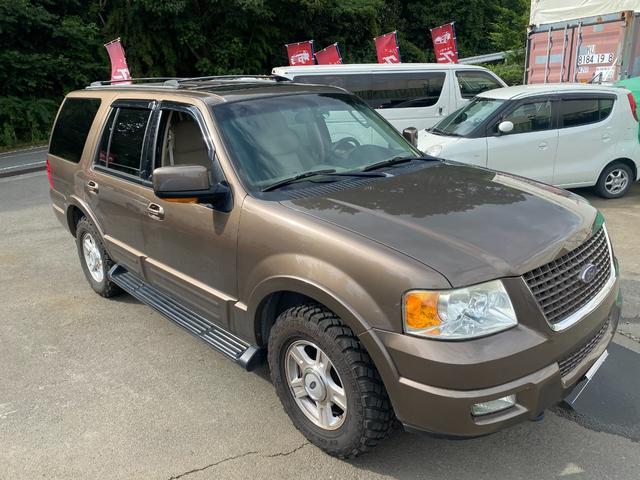 フォード  新車並行車 左ハンドル HDDナビ DVD ETC サンルーフ オートマ フル装備 室内クリーニング 全塗装 5400ccガソリン