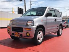 Zターボ 軽自動車 4WD 4AT 保証付 エアコン アルミ