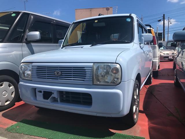 スズキ X 軽自動車 ライトブルー AT 保証付 AC 修復歴無