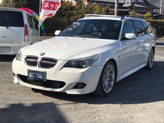 BMW525iツーリング Mスポーツパッケージ ガラスルーフ ナビ