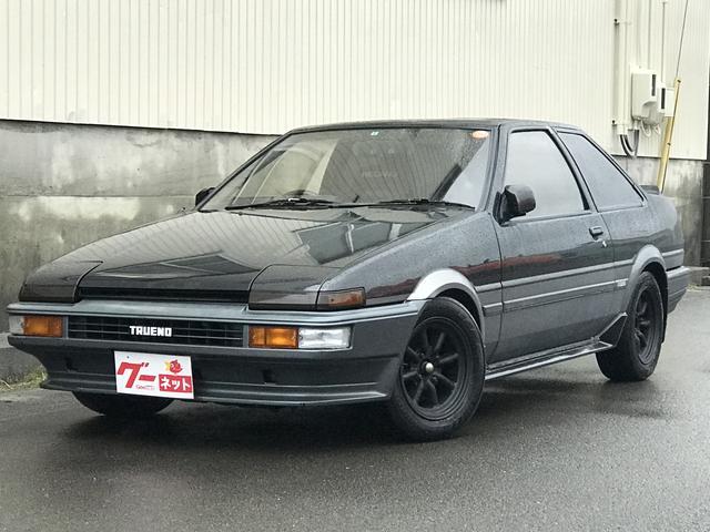 トヨタ GT APEX サンルーフ 車高調 ワタナベ14アルミ