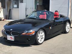 BMW Z42.2i 電動オープン 赤レザー 純正ナビ シートヒーター