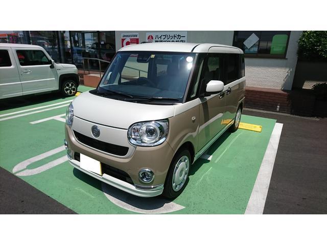 「ダイハツ」「ムーヴキャンバス」「コンパクトカー」「静岡県」の中古車