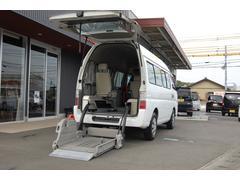 キャラバン福祉車両チェアキャブ 10名2基 送迎車 【無料保証付】