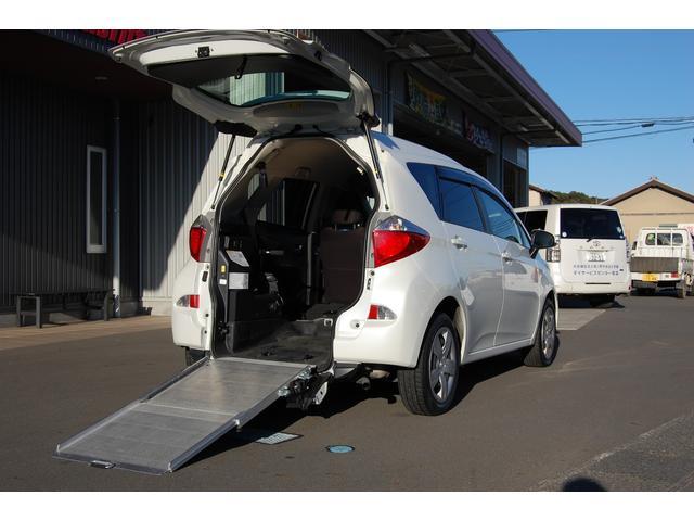 トヨタ G 福祉車両スローパー 純正ナビバックモニター 全国1年保証