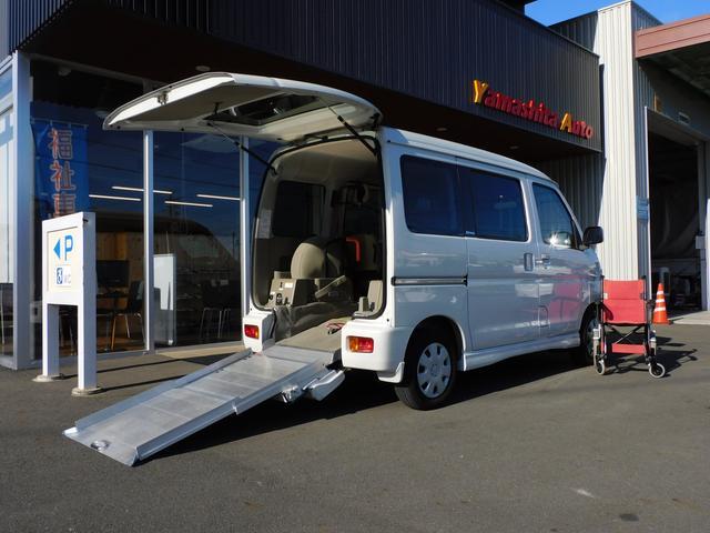 ダイハツ  福祉車両スロープ ETC 車いす1名合計3名乗車 車いす移動車スローパー 全国1年保証