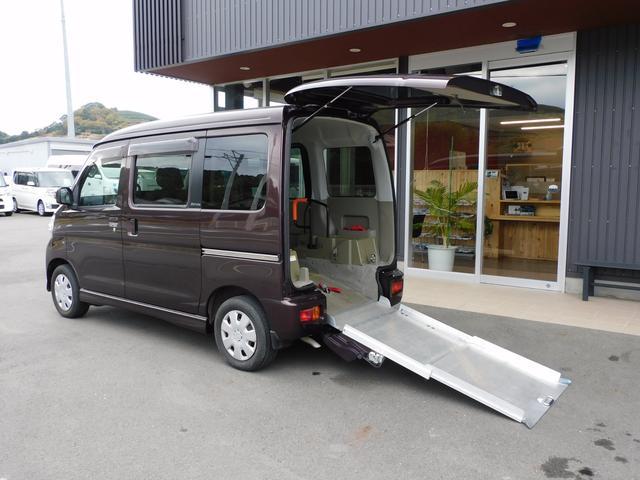 ダイハツ  福祉車両スロープ 車椅子1名合計4名乗車 全国1年保証