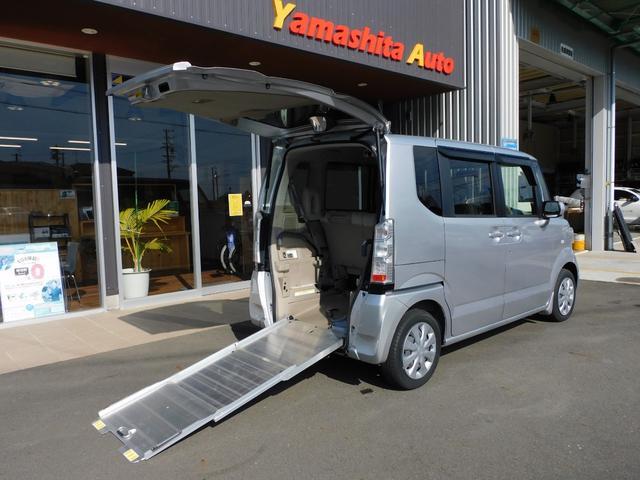 ホンダ N-BOX+ G 福祉車両 車いすスロープ 車いす1名+2名乗車または4名乗車 全国1年保証