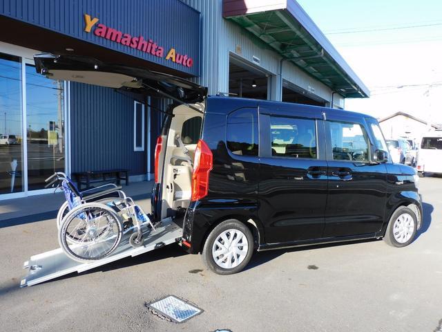 ホンダ N-BOX  福祉車両スロープ 車いす1名+2名乗車または4名乗車 車いす移動車スローパー Bカメラ ETC 当店代車 全国1年保証