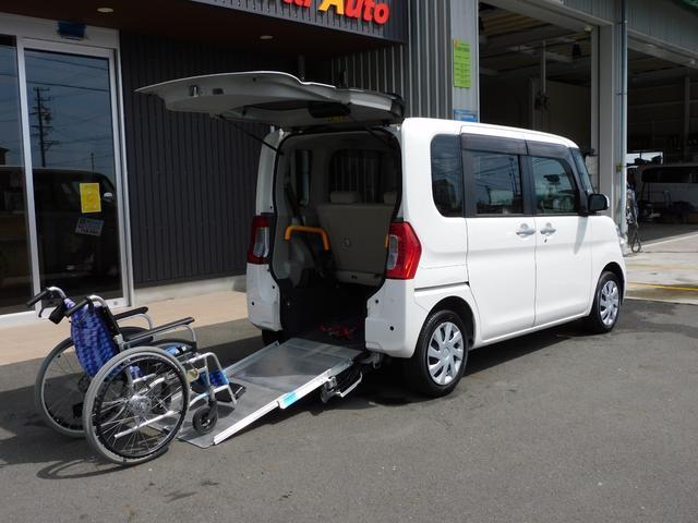 ダイハツ タント L SAII 福祉車両 スロープ 車いす1名+2名 通常使用4名乗車 バックカメラ ETC 全国1年保証
