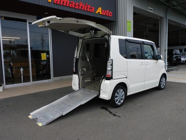 ホンダ G 福祉車両 車いすスロープ 車いす1名+2名乗車 リアシート付 全国1年保証