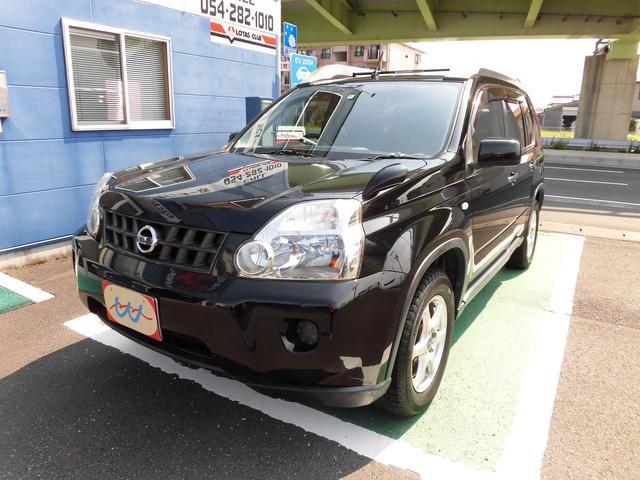 日産 25X 4WD ワンオーナー ハイパールーフレール