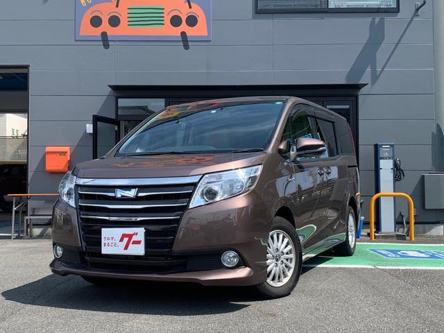 トヨタ ノア ハイブリッドG ETC付 ナビ付 Bluetooth付 リアモニター付 ワンオーナー