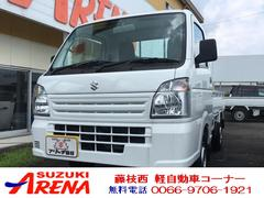 キャリイトラックKC Wエアバッグ 4WD エアコン パワステ 軽トラック