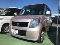 パレットL 軽自動車 ピンク CVT 保証付 AC