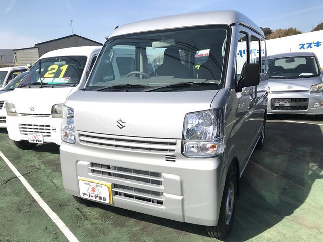 スズキ PA 軽自動車 シルバー MT 保証付 AC