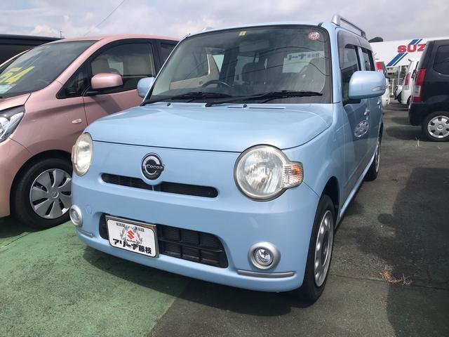 ダイハツ ココアプラスX 軽自動車 ライトブルー CVT AC