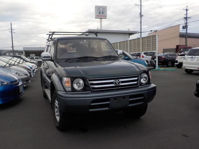 「トヨタ」「ランドクルーザープラド」「SUV・クロカン」「静岡県」の中古車