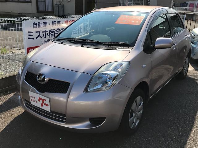 トヨタ F CVT CD コンパクトカー