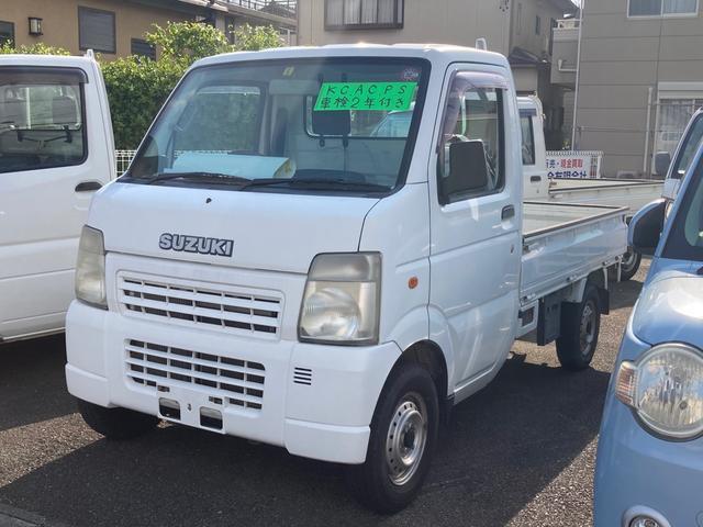 スズキ KCエアコン・パワステ AC MT 修復歴無 軽トラック
