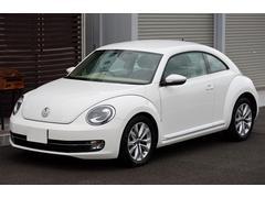 VW ザ・ビートルデザインレザーパッケージ ベージュ革シート 禁煙車 ETC