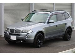 BMW X3si/ベージュレザー/禁煙車/MスポAW/サンルーフ