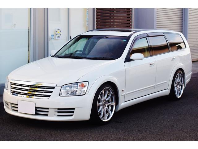 日産 アクシス ETC カロッツェリアナビTV タンレザー 禁煙車 ツインサンルーフ Bluetooth WORK SCHWERT19インチホイール 225/40/19 tanabe SUSTECPRO車高調サス
