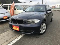 BMW120i 走行距離少ない・プッシュスタート