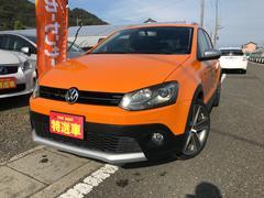VW ポロクロスポロ・ワンオーナー社外ナビTV・アルミホイール・